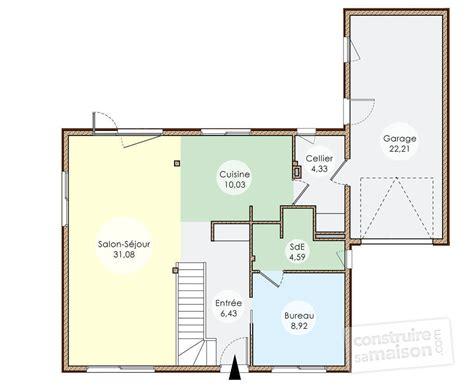plan maison bois plain pied 4 chambres plan de maison ossature bois plain pied 28 images