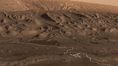 Mars Nasa Rover Curiosity Mount Sharp Path