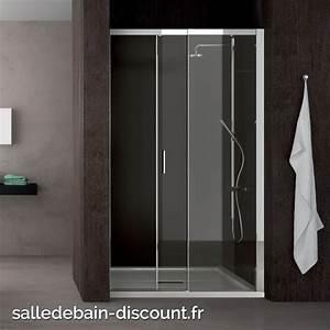 teuco paroi de douche a porte coulissante moving en niche With porte de douche coulissante avec colonne salle de bain 60 cm de large