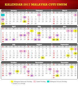 kalender malaysia cuti umum calendar printable