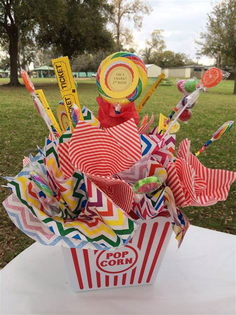 Circus Theme Center Pieces  Circus Party Ideas