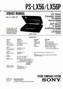 Sony Lbt-a295  Lbt-d550 Service Manual