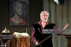 Actor Georgy Ponomaryov in a solo performance titled ...