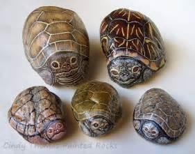 Animal Rock Painting Ideas Stones
