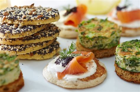 canap cuisine gluten free blinis with smoked salmon tesco food
