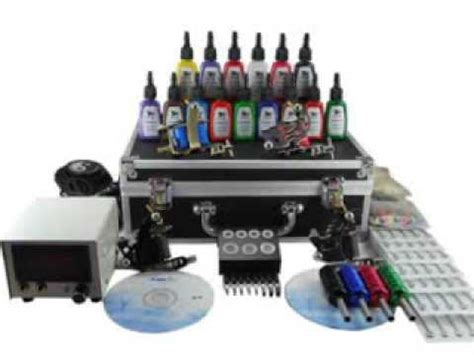 Complete Tattoo Kits Equipment Set-Up For Sale ★ $290