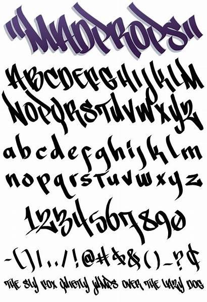Mad Props Graffiti Fonts Font