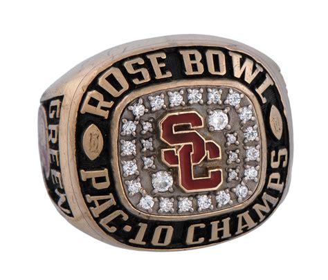 Lot Detail  1995 Usc Rose Bowl Championship Ring. Princeton Rings. Naval Rings. Actress Wedding Rings. Human Rings