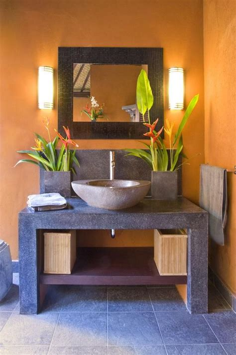 balinese style powder room  tere blond ill