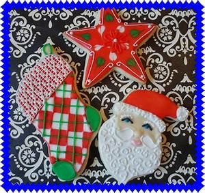 the enchanted oven Christmas cookie decorating classes