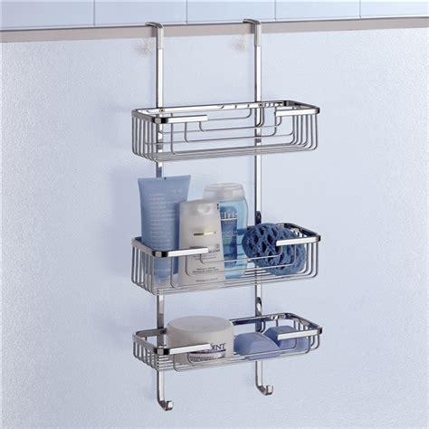 buy  gedy triple hanging  shower door basket