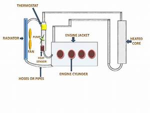 Engine Cooling System Working  U0026 Animation