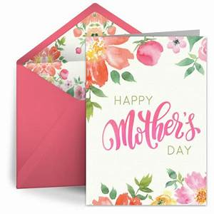 Watercolor Bouquet   Free Mothers Day eCard, Mother's Day ...