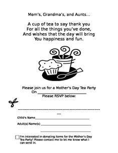 mothers day teapot card template im   teapot