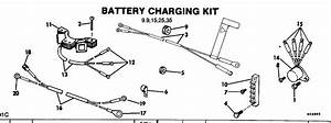 Battery Charging Kit 9 9 15 25 35 Electrical 1983