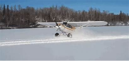 Snow Airplane Donuts Doing Drifting Giphy Cub