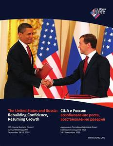 Annual Meeting 2009 by U.S.-Russia Business Council - Issuu