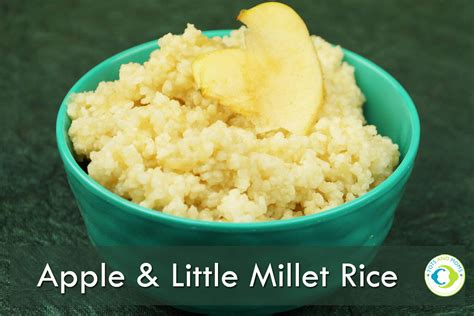 Apple Little Millet Rice Kheer For Babies Toddlers