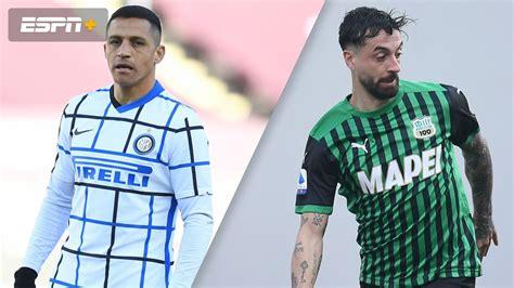 In Spanish-Inter vs. Sassuolo (Serie A) | Watch ESPN