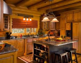 building your own kitchen island cook up a classic kitchen in your log home