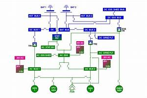 Electrical Power System Diagram Description