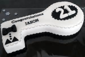 21st Birthday Key Cake Designs