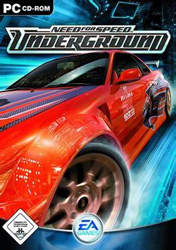 speed underground vikipedija