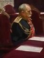 BORIS MIKHAILOVICH KUSTODIEV   PORTRAIT OF ADMIRAL OSKAR ...