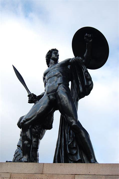 achilles  hyde park  bronze statue  sir richard