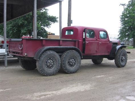 Crew Cab, Tandem Axle Dodge Power Wagon.   Off Road