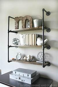 Industrial Piping Shelves - Taryn Whiteaker