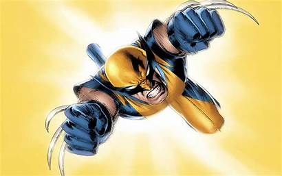 Wolverine Comics Marvel Jumping Wallpapers Zoom Comic