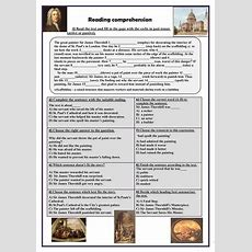 Reading Comprehension (past Tenses) Worksheet  Free Esl Printable Worksheets Made By Teachers