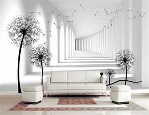 Baum Für Wohnzimmer : breathtaking wandtapeten bedruckte f r stilvolle ~ Michelbontemps.com Haus und Dekorationen