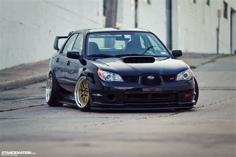 Low Loud Vic 39 S Slammed Subaru Sti Stancenation