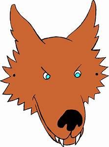 masks printable animal With big bad wolf template