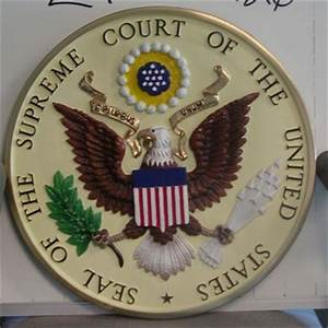 Supreme Court of the United States Wall Seal / www ...