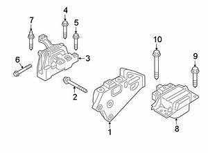 2019 Volkswagen Atlas Bolt  Mount  Bracket  Stabilizer  Control  Components