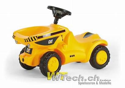 Dumper Cat Rolly Toys Tractor Rollyminitrac Ride