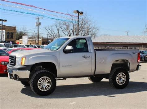 buy    sle regular cab  lifted  road tires