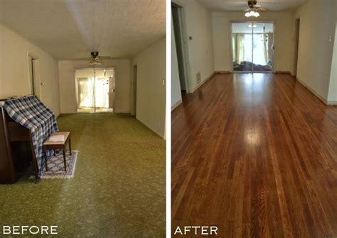 My DIY Refinished Hardwood Floors Are Finished!   Addicted