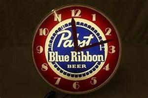 lighted advertising clocks on Pinterest