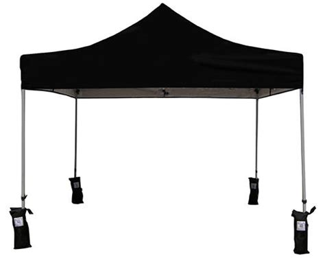 ez pop  canopy tent instant canopy tent gazebo  weight bags black ebay