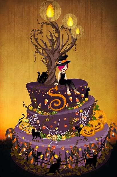 Halloween Birthday Cakes Cake Spooky Creepy Ever