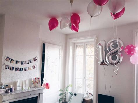 decoration anniversaire  ans birthday idees anniv