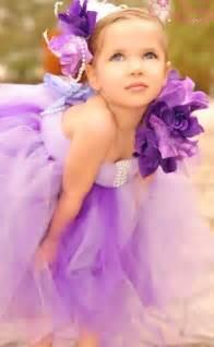 pearl headpiece sweet lavender tutu flower girl dress