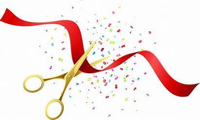 Inauguration Clipart Cut Ceremony Opening Transparent Webstockreview
