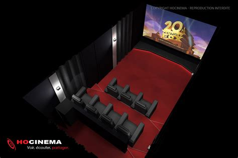 le concept  une salle cinema maison realisee sur mesure