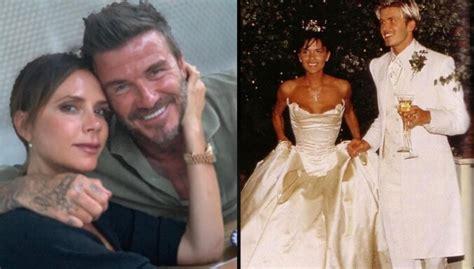 Foto: Skaistais Bekhemu pāris atzīmē kāzu 21. gadadienu ...