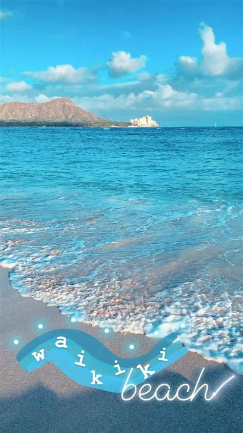 instagram story travel hawaii beach boomerang inspiration